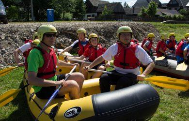 Rafting pontonowy
